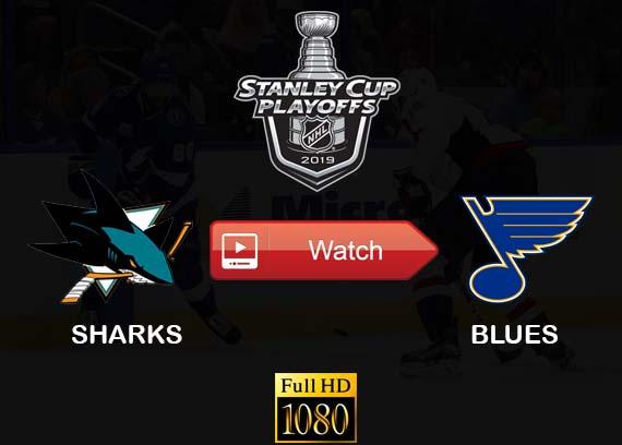 Sharks vs Blues live stream