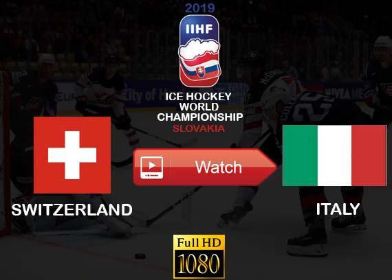 Switzerland vs Italy live stream