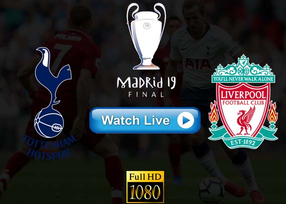 Tottenham vs Liverpool UEFA live stream reddit