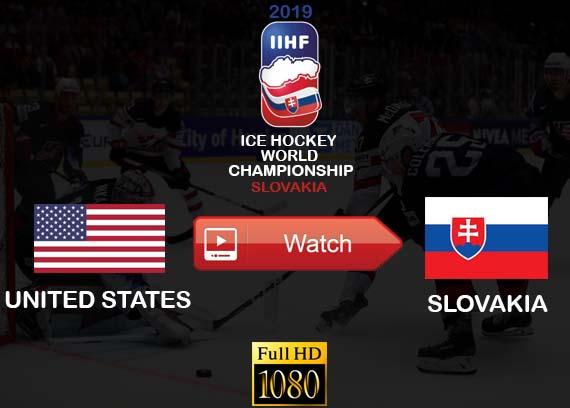 United States vs Slovakia live streaming online