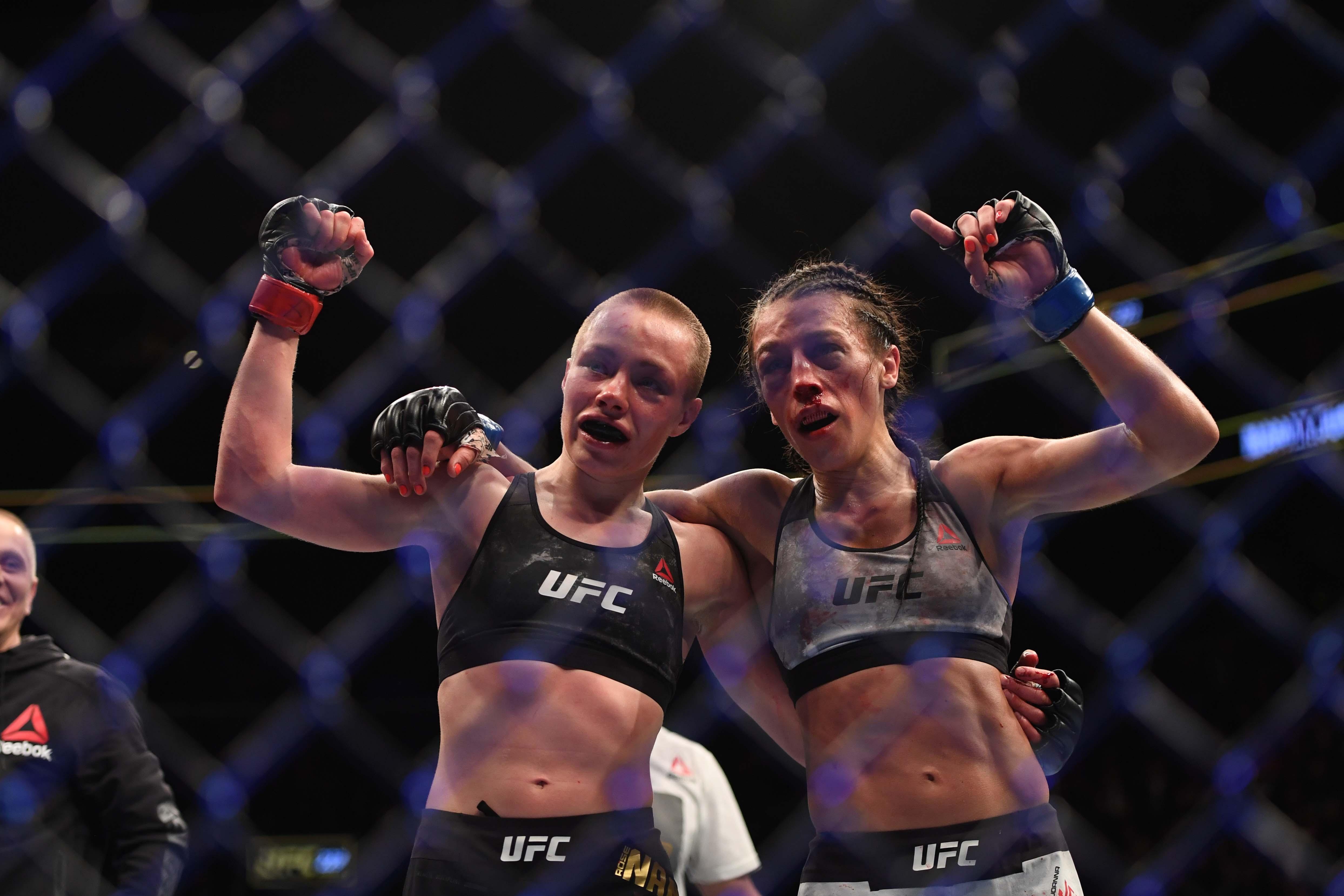 Joanna Jedrzejczyk responds to Rose Namajunas' UFC 237 title loss
