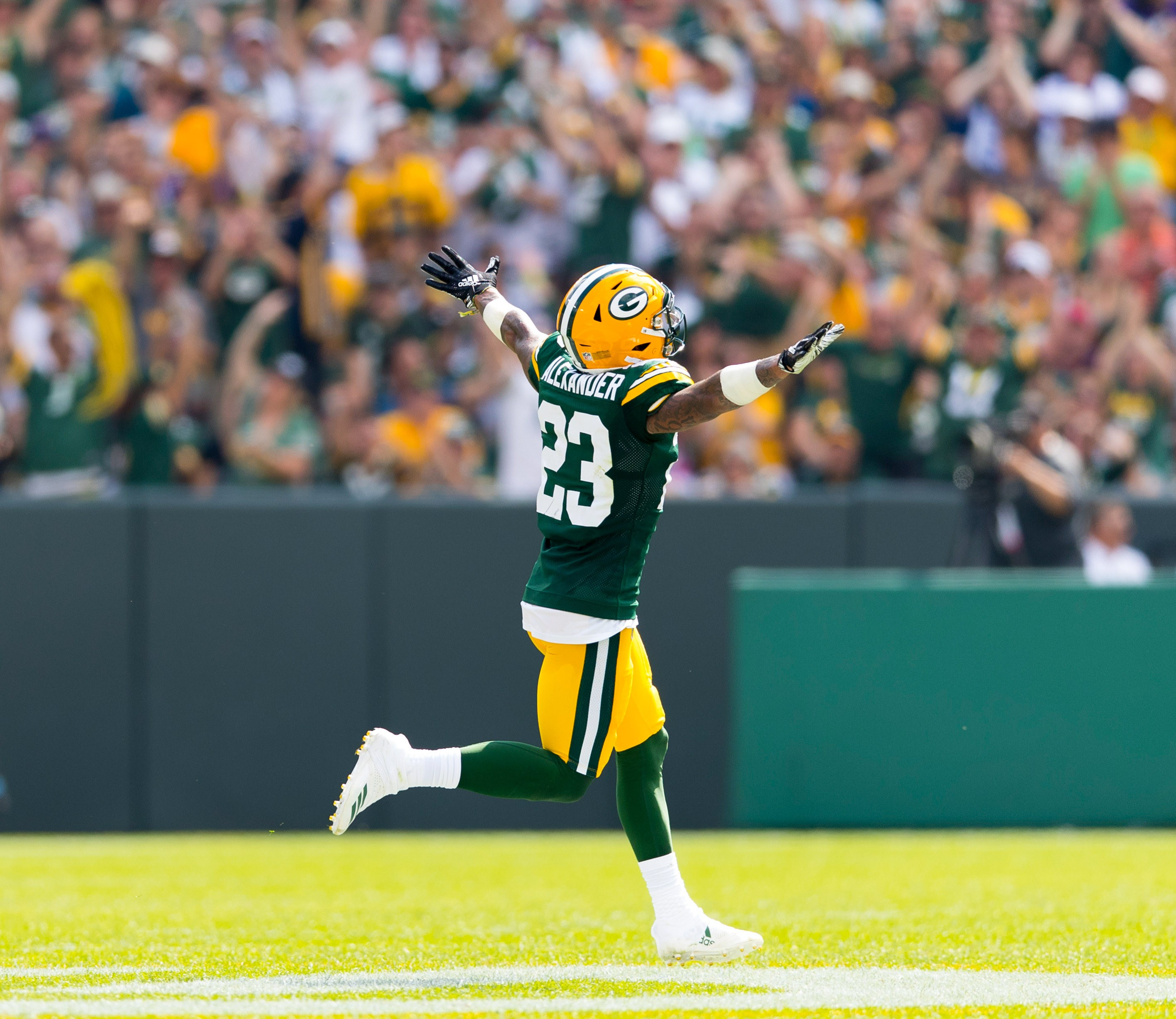 Packers CB Jaire Alexander Is Confident of Taking His Game to the Next Level