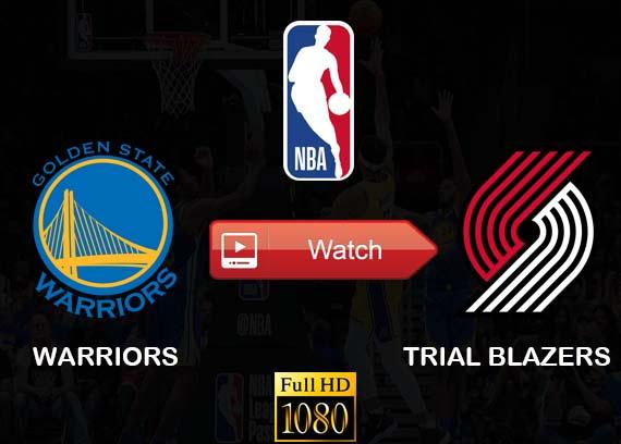 Warriors vs Trial Blazers live stream