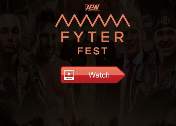 AEW Fyter Fest live stream Reddit