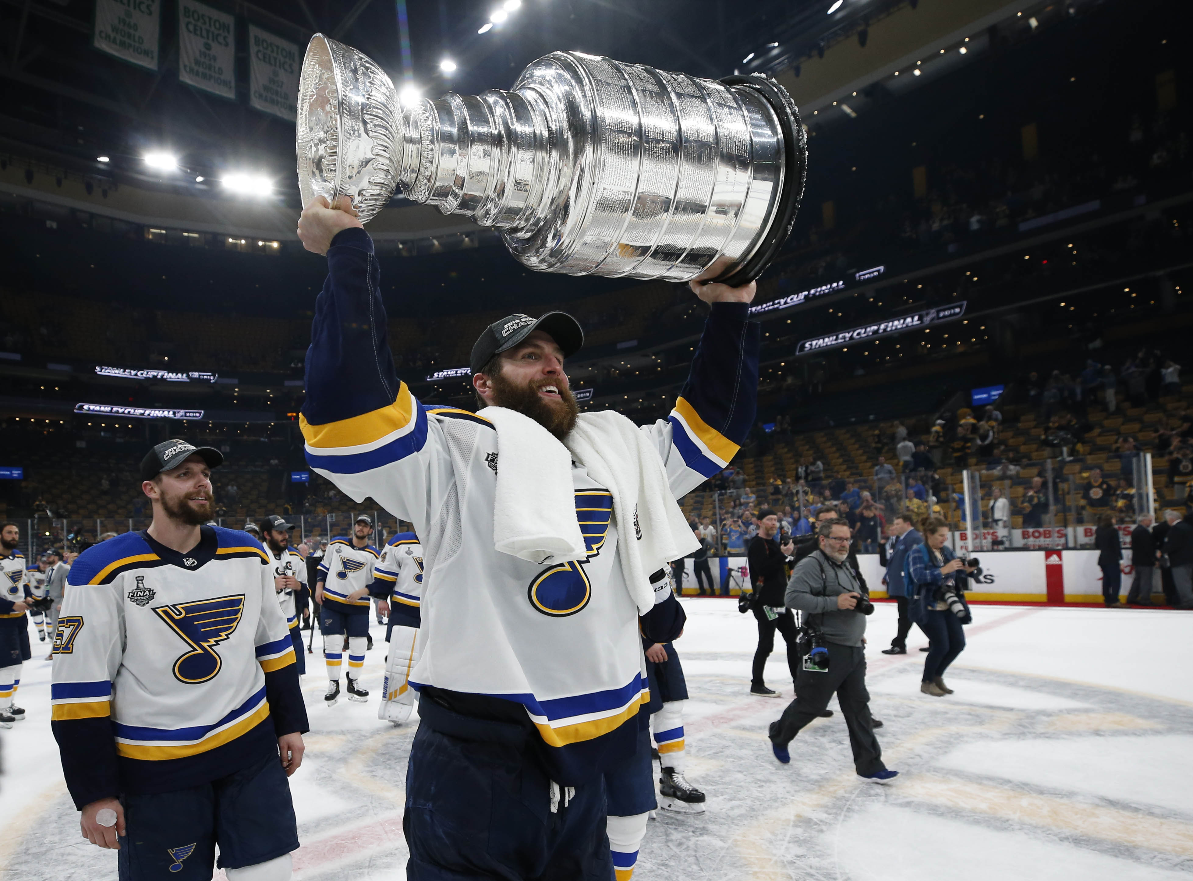St. Louis Blues win first Stanley Cup in franchise history