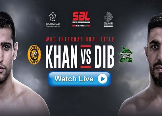 Amir Khan vs Billy Dib live stream Reddit