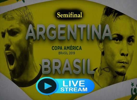 Argentina vs Brazil En Vivo
