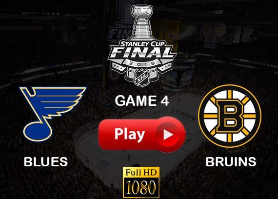 Blues vs Bruins Game 4 reddit live stream