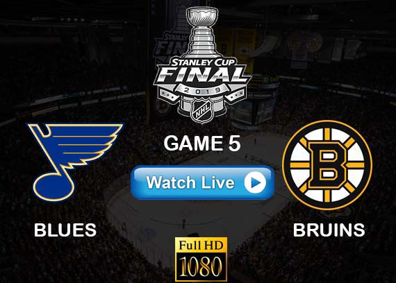 Blues vs Bruins Game 5 NHL reddit live stream