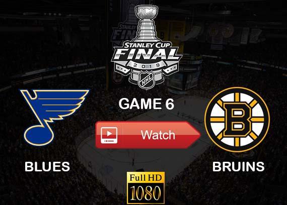 Blues vs Bruins Game 6 live stream reddit