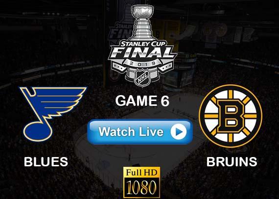 Blues vs Bruins Reddit live