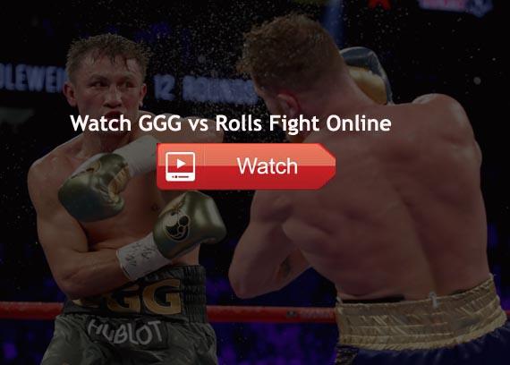 Rolls vs GGG Live