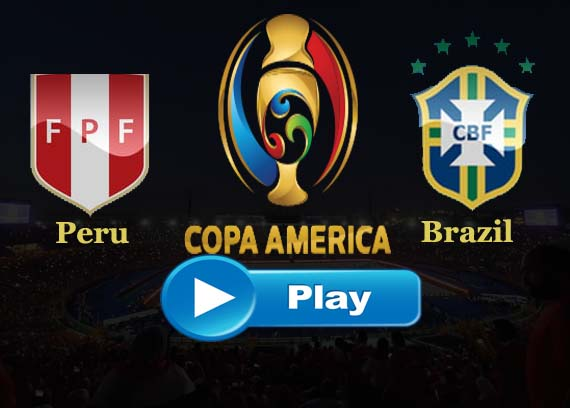 Peru vs Brazil live streaming