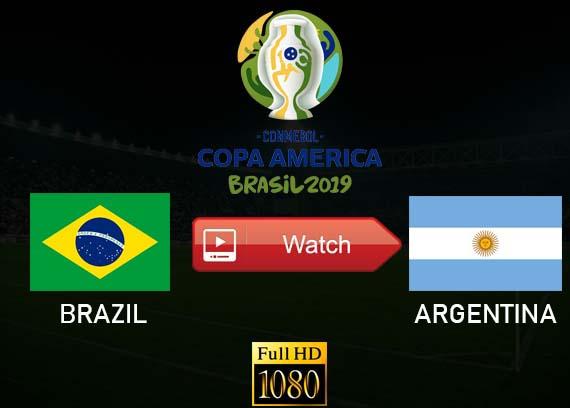Brazil vs Argentina live stream Copa America