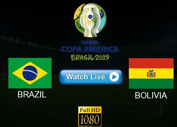 Brazil vs Bolivia Copa America reddit streams