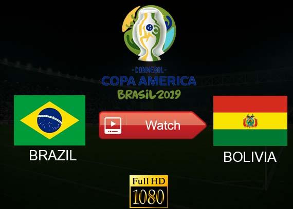 Brazil vs Bolivia live stream reddit