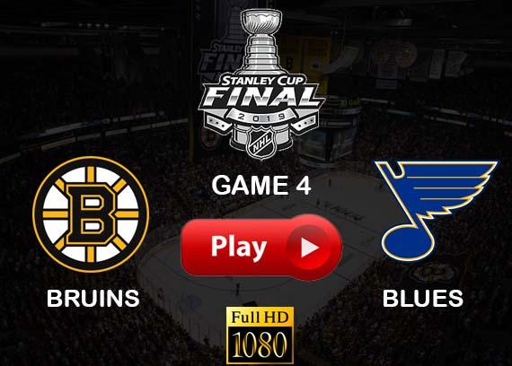 Bruins vs Blues Game 4 Reddit streams