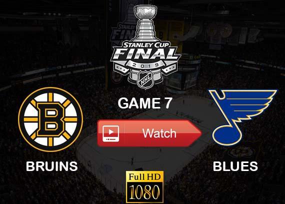 Bruins vs Blues live streaming reddit game 7