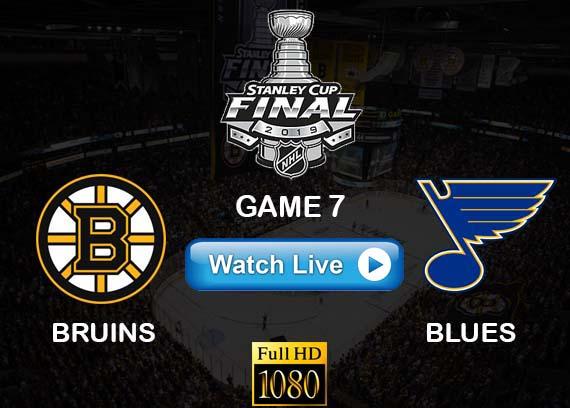 Bruins vs Blues NHL Game 7 live reddit online