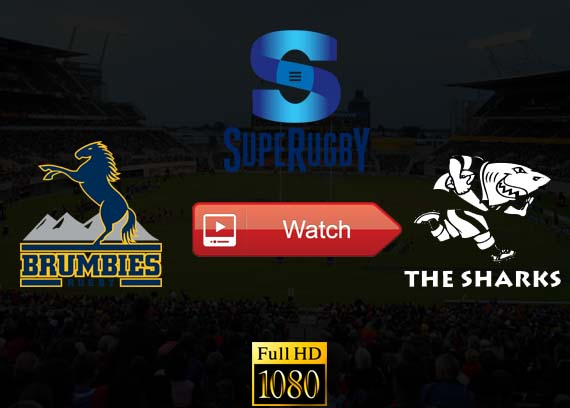 Brumbies vs Sharks live stream online