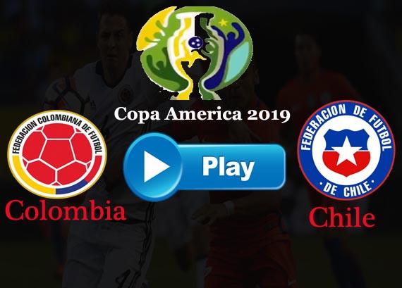 Chile vs Colombia Live