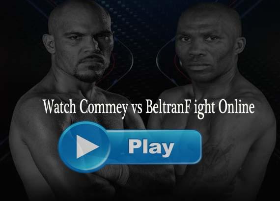 Commey vs Beltran Live