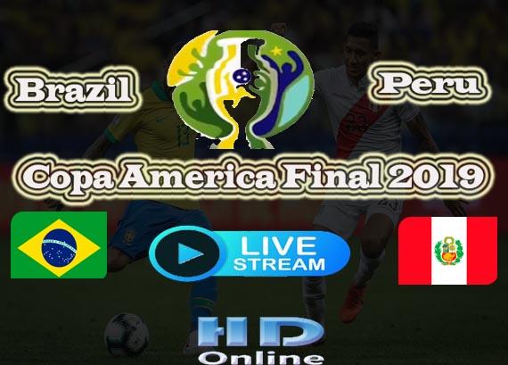 Copa America Final Live Stream
