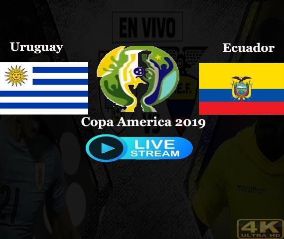 Uruguay vs Ecuador live streaming Copa America Free Online