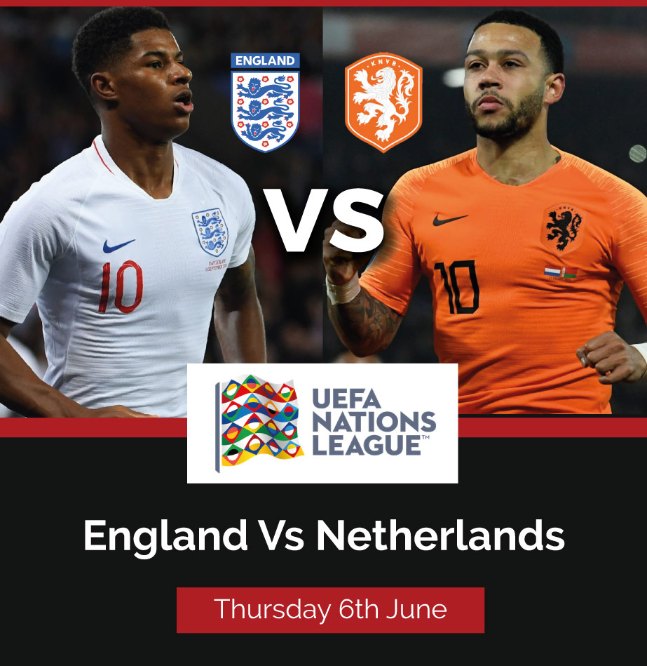 Nations League Semifinal- England vs Netherlands Live Streaming