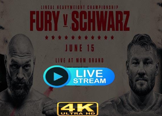 Tom Schwarz vs Tyson Fury Live stream reddit