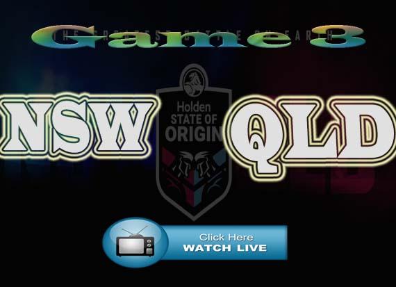 State of Origin Game 3 Live Stream