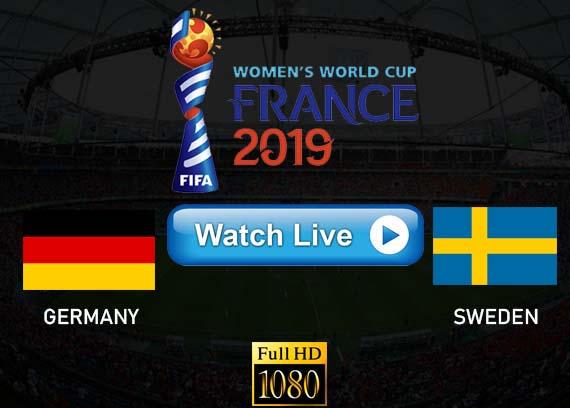 Germany vs Sweden 2019 live streaming reddit