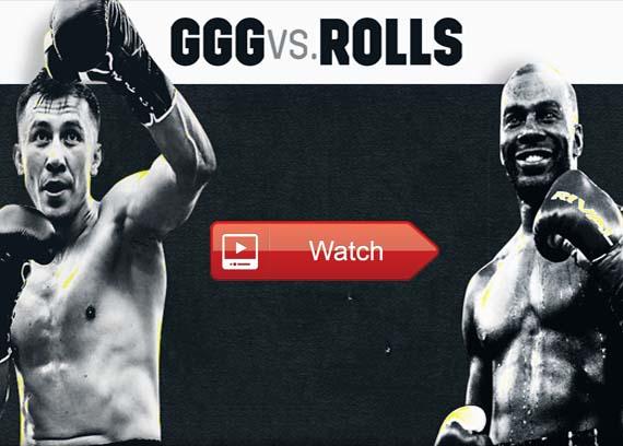 GGG vs Rolls live stream reddit
