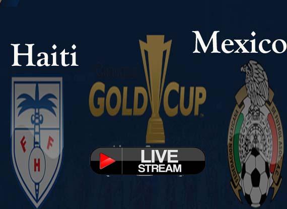 Haiti vs Mexico live