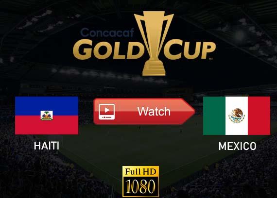 Haiti vs Mexico live stream