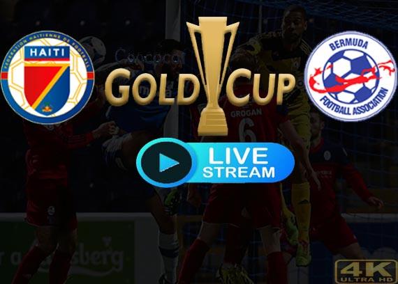 Haiti vs Bermuda live Stream Gold Cup