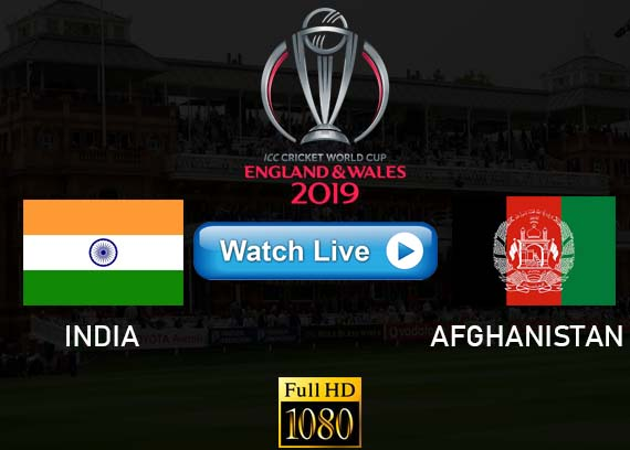 India vs Afghanistan Cricket streams