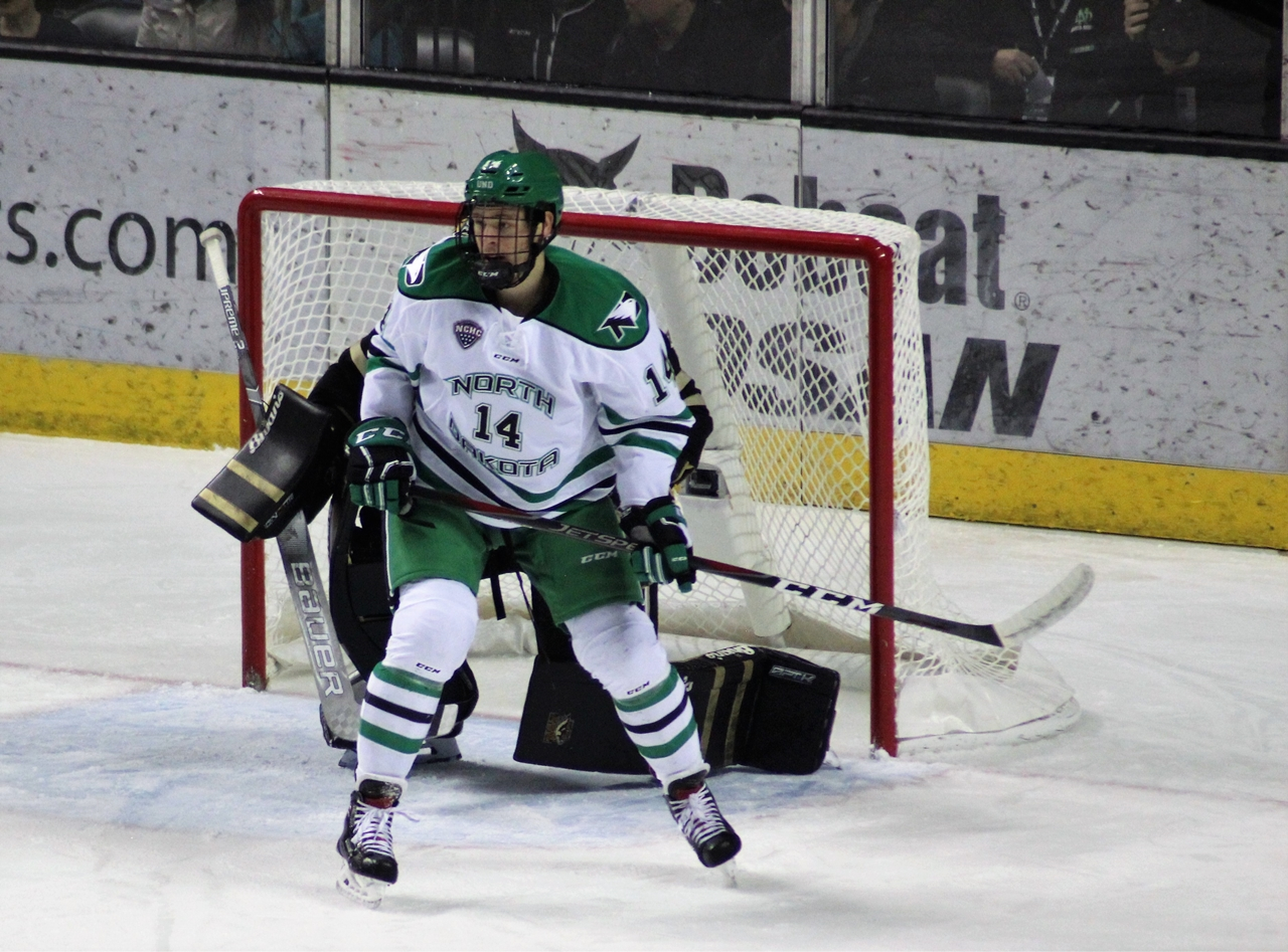 Pod Hockey: North Dakota Beats Miami 2-0