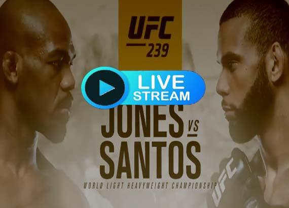 UFC 239 live streaming