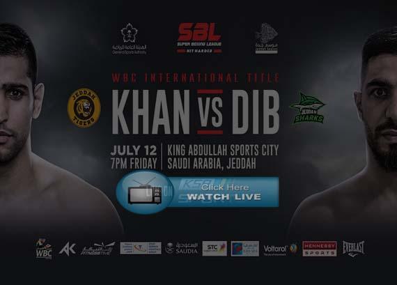 Khan vs Dib Live Stream Reddit
