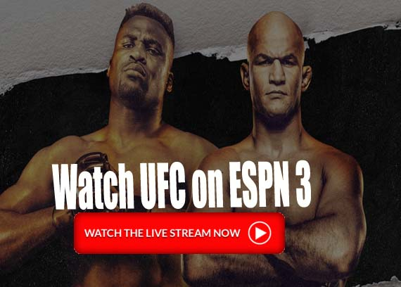 UFC on ESPN 3 livestream: Ngannou vs Santos Fight Free Online