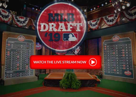 MLB mock Draft 2019 live Stream