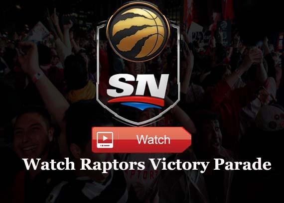 Watch Toronto Raptors Championship Parade Free online
