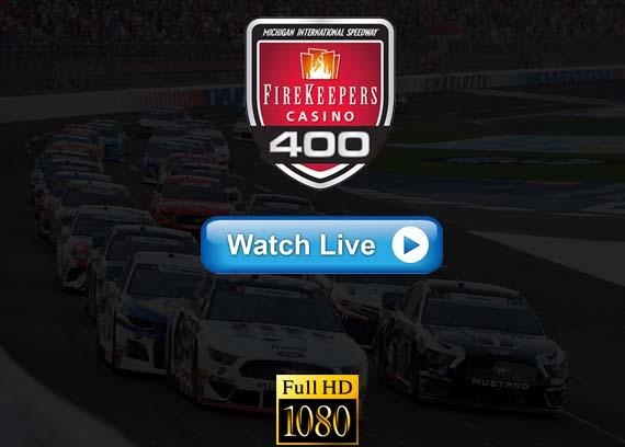 Nascar FireKeepers Casino 400 live stream reddit