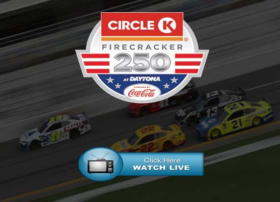 Circle K Firecracker 250 Live Stream