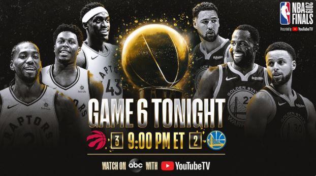 NBA Finals Game 6 live