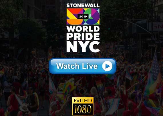 NYC Pride parade march live stream