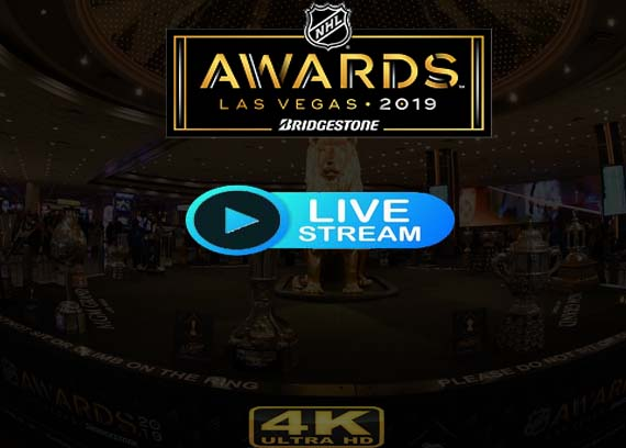 NHL Awards 2019 live stream