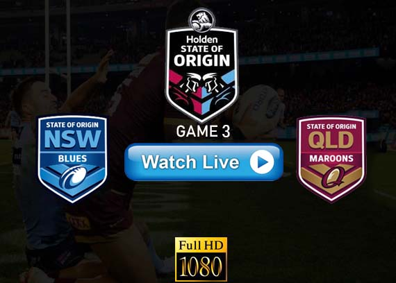 NSW vs QLD Game 3 State of Origin Reddit live stream