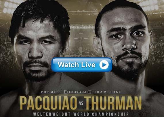 Pacquiao vs Thurman boxing live streams reddit